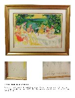 Wine Alfresco Limited Edition Print by LeRoy Neiman - 1