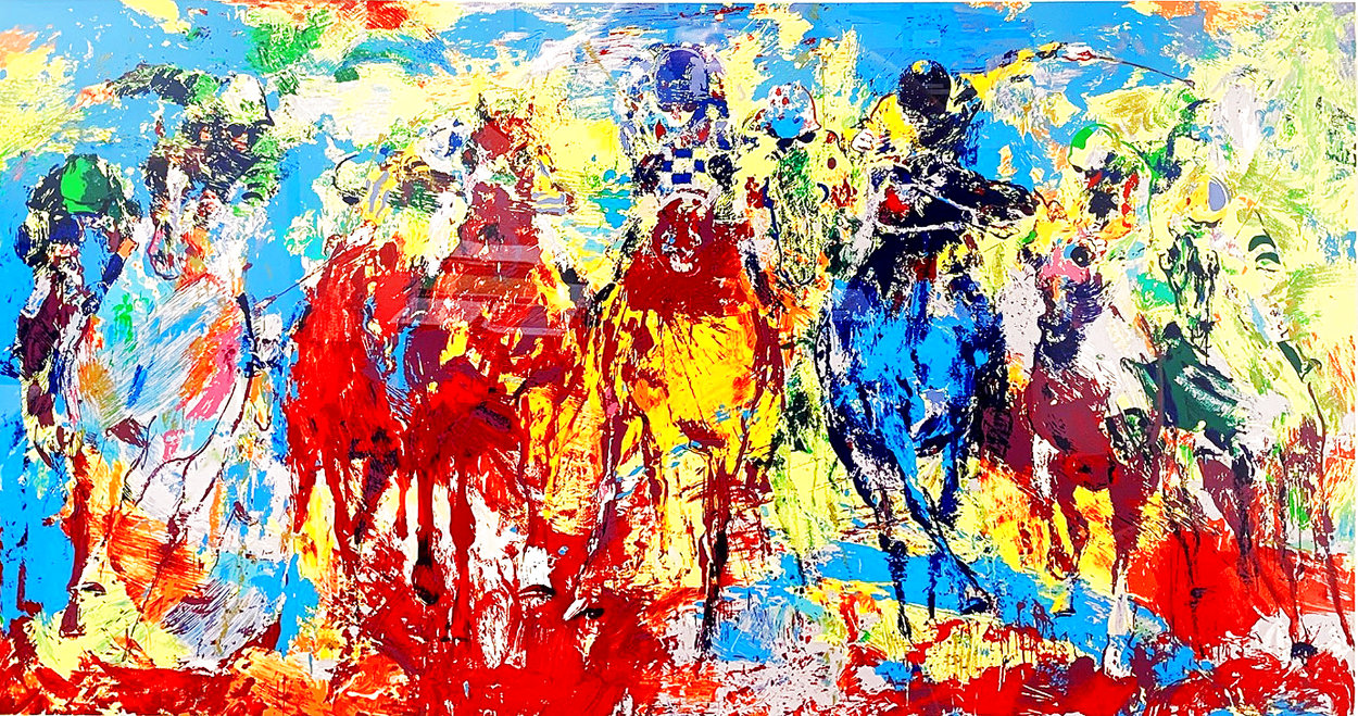 Stretch Stampede AP 1979 Limited Edition Print by LeRoy Neiman