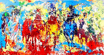 Stretch Stampede AP 1979 Limited Edition Print - LeRoy Neiman