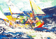 North Sea Sailing Limited Edition Print by LeRoy Neiman - 1