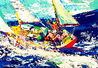 North Sea Sailing Limited Edition Print by LeRoy Neiman - 0