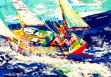 North Sea Sailing Limited Edition Print - LeRoy Neiman