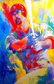 Mark McGwire 1999 Limited Edition Print - LeRoy Neiman
