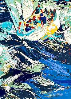 12 Meter Yacht Race AP 1973 (Constellation) Limited Edition Print - LeRoy Neiman