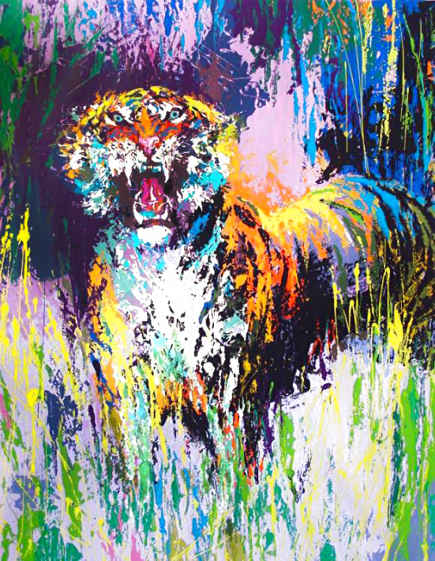 Tiger 1973 Limited Edition Print by LeRoy Neiman