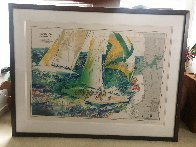 America's Cup - Australia 1986 Limited Edition Print by LeRoy Neiman - 1