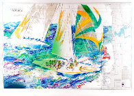 America's Cup - Australia 1986 Limited Edition Print by LeRoy Neiman - 0