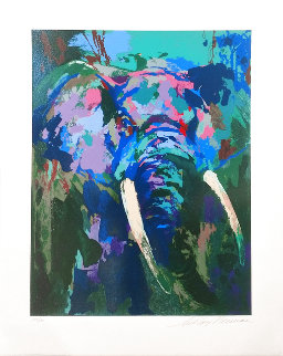 Portrait of the Elephant Limited Edition Print - LeRoy Neiman