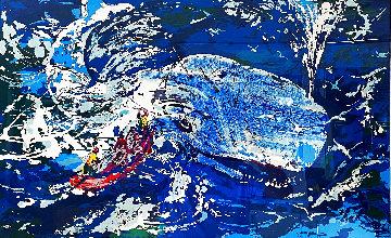 Blue Whale AP 1997 Limited Edition Print - LeRoy Neiman