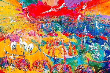 Circus 2001  Super Huge Limited Edition Print - LeRoy Neiman