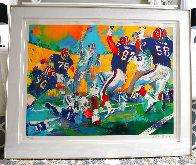 Cowboys Bills Superbowl XXVII AP  Limited Edition Print by LeRoy Neiman - 1