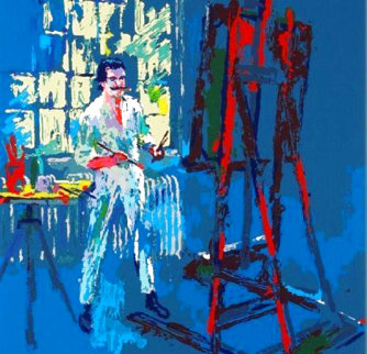 Self Portrait 1991 Limited Edition Print - LeRoy Neiman