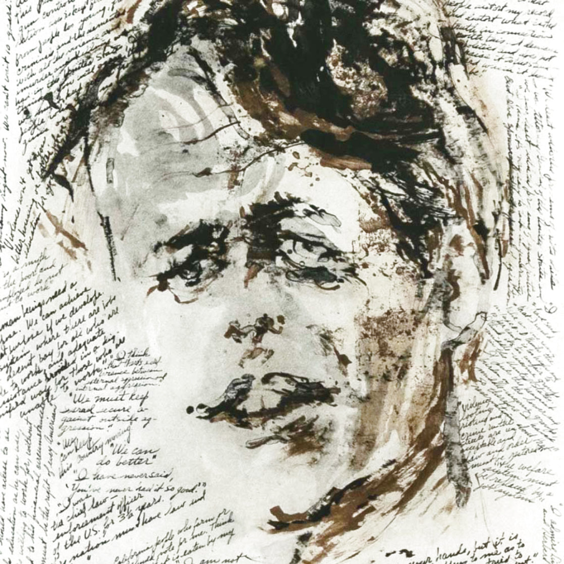 Robert F. Kennedy Memorial 1972 Limited Edition Print by LeRoy Neiman