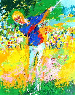 Tee Shot 1972 Limited Edition Print - LeRoy Neiman