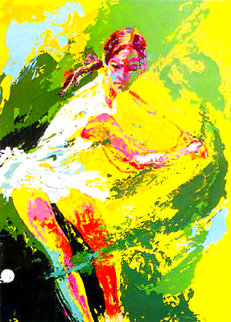 Backhand (Chris Evert)  AP 1974   Limited Edition Print - LeRoy Neiman