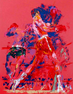 Red Boxers 1973 Limited Edition Print - LeRoy Neiman