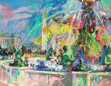 Place De La Concorde 2006 Limited Edition Print - LeRoy Neiman
