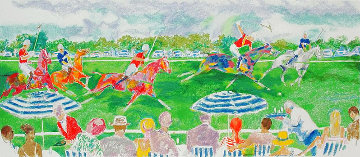 Polo Panorama 2005 Limited Edition Print - LeRoy Neiman