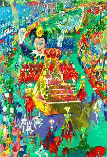 Mardi Gras Parade 2002 Limited Edition Print - LeRoy Neiman