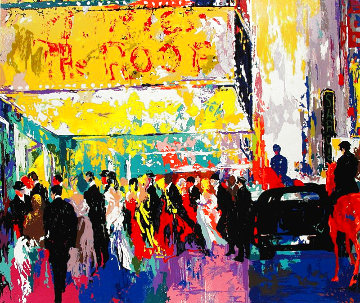 Opening Night on Broadway 2003 NYC Limited Edition Print - LeRoy Neiman