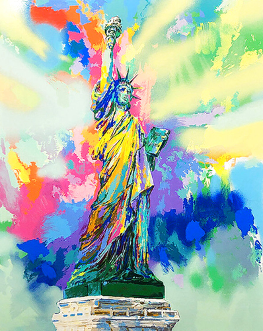 Lady Liberty 1985 Limited Edition Print by LeRoy Neiman