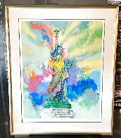 Lady Liberty 1985 Limited Edition Print by LeRoy Neiman - 1