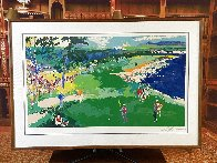 18th At Pebble Beach 1985 Super Huge Limited Edition Print by LeRoy Neiman - 1