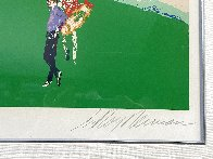 18th At Pebble Beach 1985 Super Huge Limited Edition Print by LeRoy Neiman - 2