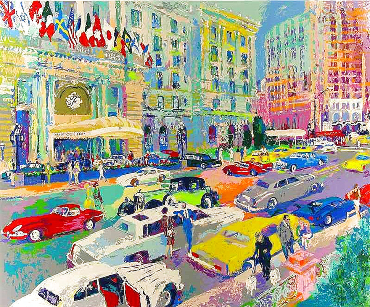 Nob Hill 1985 Limited Edition Print by LeRoy Neiman