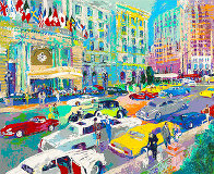 Nob Hill 1985 Limited Edition Print by LeRoy Neiman - 1