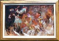Jazz Players 1961 29x41 Huge Original Painting by LeRoy Neiman - 2