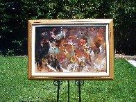Jazz Players 1961 29x41 Huge Original Painting by LeRoy Neiman - 1