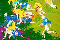 Running Back 1961 26x38 Original Painting by LeRoy Neiman - 0