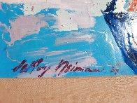 Jascha Heifetz 1967 13x17 Original Painting by LeRoy Neiman - 4