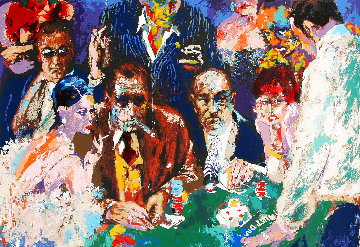Vegas Blackjack 1988 Limited Edition Print - LeRoy Neiman