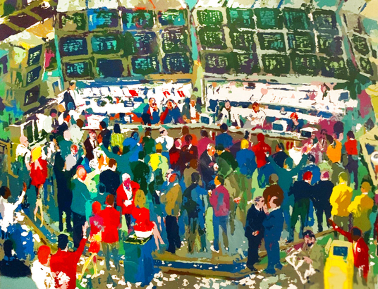 Chicago Options Limited Edition Print by LeRoy Neiman