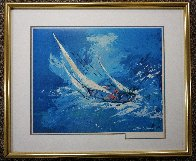 Sailing 1999 HS  Limited Edition Print by LeRoy Neiman - 1