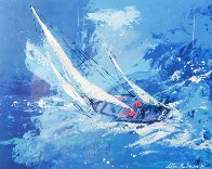 Sailing 1999 HS  Limited Edition Print by LeRoy Neiman - 0