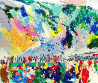 Aspen Mountain Rendezvous 2002 Limited Edition Print by LeRoy Neiman - 0