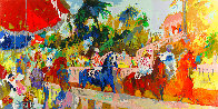 Leaving the Paddock 2008 Limited Edition Print by LeRoy Neiman - 0