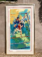 Olympic Boxers AP 1980 Limited Edition Print by LeRoy Neiman - 1