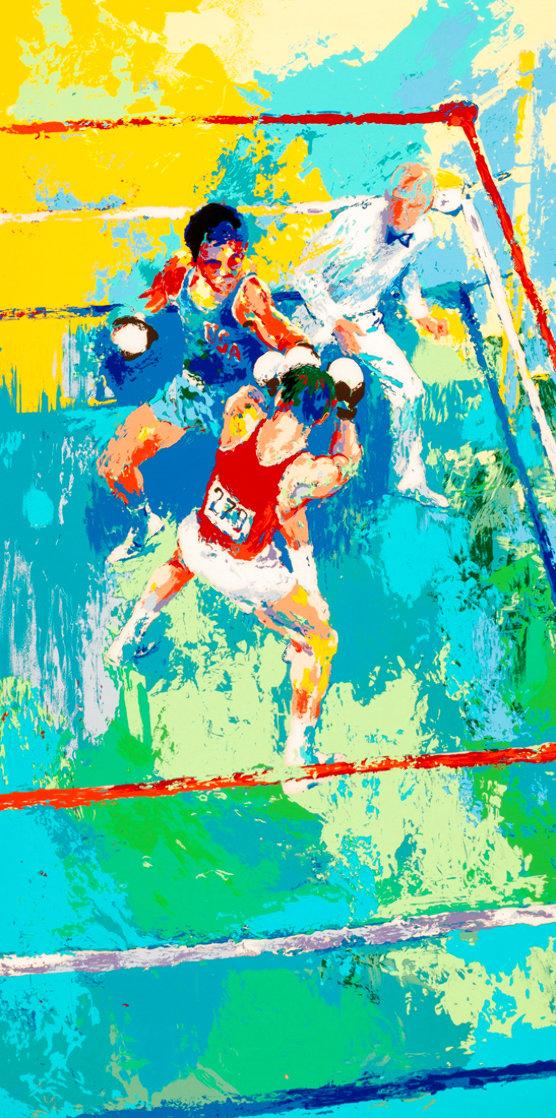 Olympic Boxers AP 1980 Limited Edition Print by LeRoy Neiman