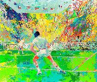 Stadium Tennis AP 1981 Limited Edition Print by LeRoy Neiman - 0