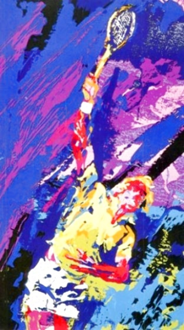 Classic Serve 1974 Limited Edition Print by LeRoy Neiman