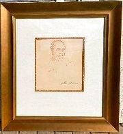 Joe Frazier 12x10 Drawing by LeRoy Neiman - 1