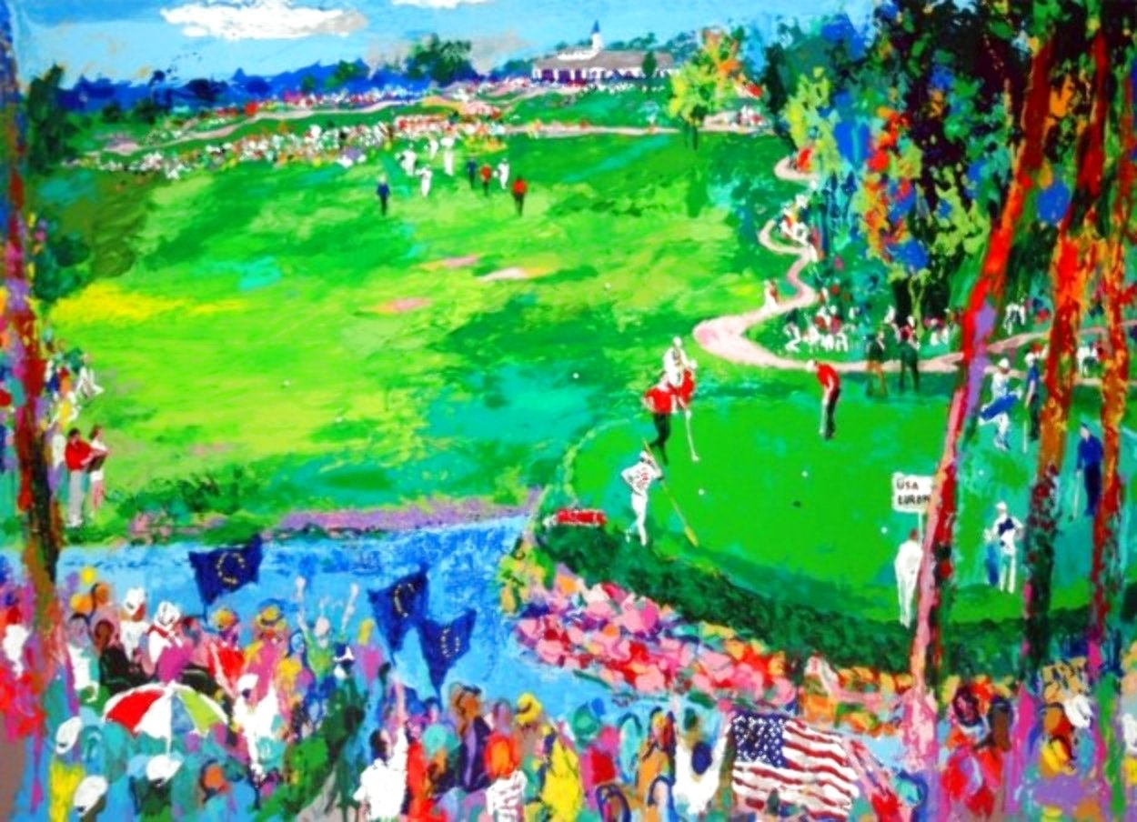 Ryder Cup - Valhalla 2008 Limited Edition Print by LeRoy Neiman
