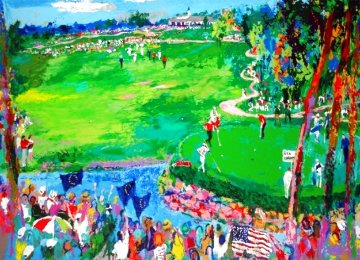 Ryder Cup - Valhalla 2008 Limited Edition Print - LeRoy Neiman