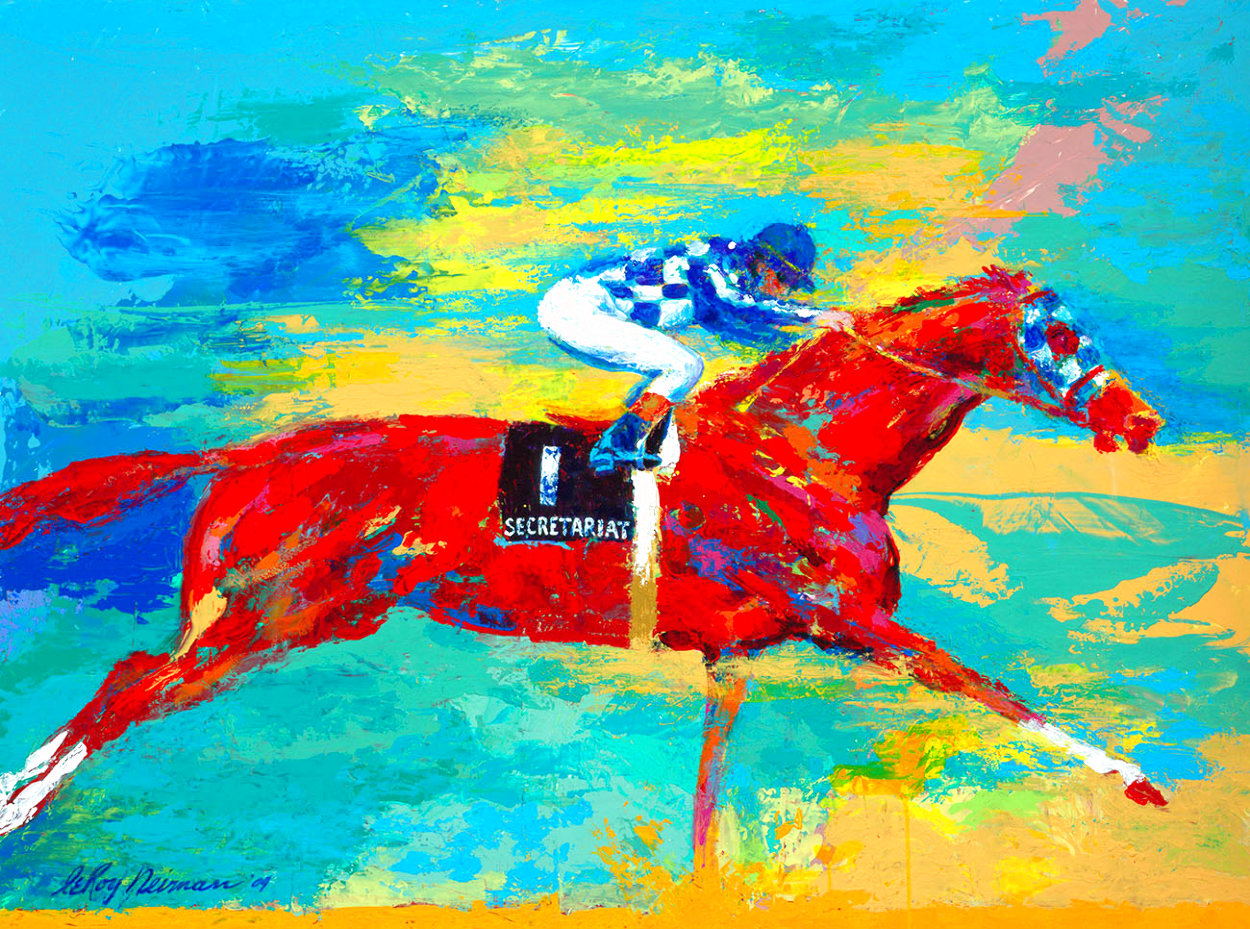 Great Secretariat 2004 Limited Edition Print by LeRoy Neiman