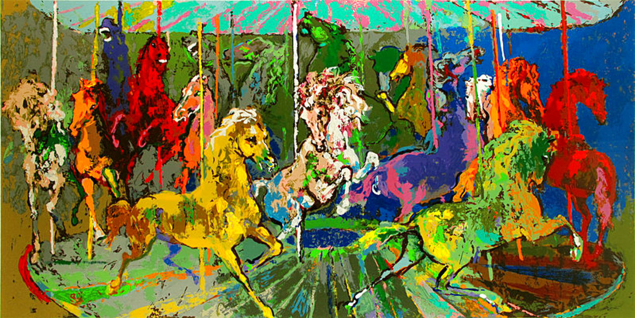 Carousel 2006 Limited Edition Print by LeRoy Neiman