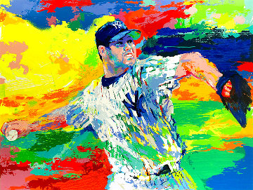 Rocket, Roger Clemens 2003 Limited Edition Print - LeRoy Neiman